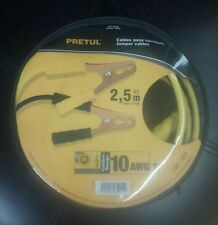 PRETUL CAP-2510P JUMPER CABLES 2,5 M LENGTH