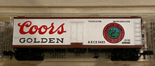 Coors Beer Reefer Refrigerator MTL microtrains N Scale Collectable Ice Bunker