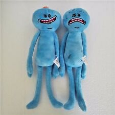New Rick and Morty Happy & Sad Meeseeks Stuffed Doll Plush Toy Set of 2