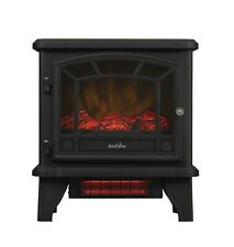 Infrared Freestanding Fireplace Electric Stove Space Heater Quartz 5200 BTU