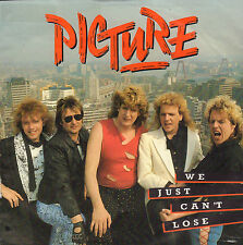 """PICTURE – We Just Can´t Lose (1987 DUTCH HARDROCK VINYL SINGLE 7"""")"""