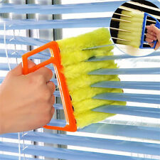 Venetian Blind Cleaner 7 Brush Microfibre Blind Duster Slats Washable Cleaning