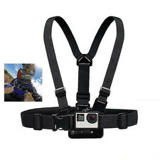 Adjustable Chest Strap For GoPro Go Pro Camera Elastic Mount Hero 1 2 3 3+ 4