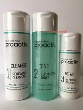Proactiv 60 Day 3 Piece Kit Proactive 3-Step System+Usage Guide, Exp. 10/2018!