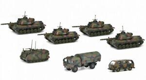 Schuco 452643300 Spur H0 - Set Panzerkompanie , Flecktarn #NEU in OVP#
