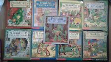 Lot of 9 Franklin Books by Bourgeois and Clark