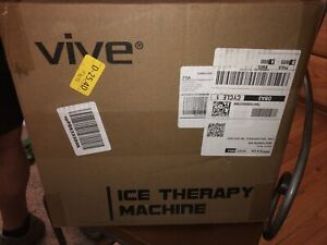 Vive Cold Ice Therapy Machine Large Cryo Cuff Flexible Cryotherapy Freeze NEW