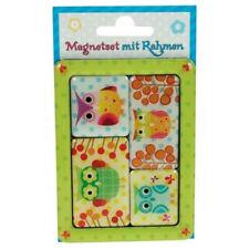 Magnete Eulen Magnetset im Rahmen