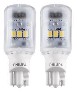 Philips 6000K 921/T16 LED Xenon White 12V Super Bright Backup Reverse Light Bulb