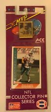 Vintage NFL DAN MARINO #13 MVP 1991 COLLECTOR PIN & CARD SET *New*Free Shipping*