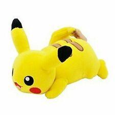 Ensky Pocket Monster Pikachu Fluffy Pillow New From Japan 4970381406615