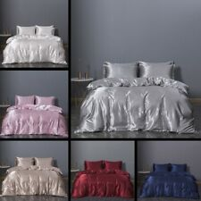 3 Piece Soft Pillowcase Bed Duvet Cover Set for Comforter Twin, Queen, King