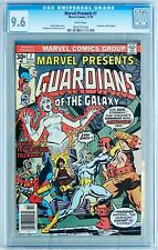 Marvel Presents #7 (Marvel 1976) CGC 9.6 NM+ Guardians of the Galaxy - White