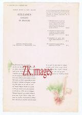 GEORGES HUGNET HANS BELLMER Oeillades ciselées en branche Jeanne BUCHER 1939