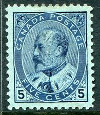 CANADA #91 FVF Original Gum Issue - King Edward VII - S7985