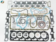 S36205G1-oz OVERHAUL GASKET SET Fits Ford 6.6 / 7.8 w/Oil Seals and Valve Seals