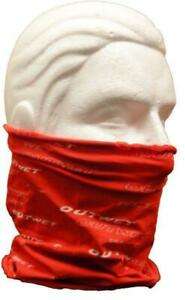 Red NECK GAITER for cycling, running, skiing Made in Italy by Outwet