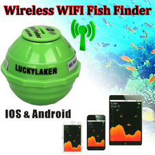Lucky FF916 Sonar Wireless WIFI Fish Finder 50M/130ft For IOS Iphone Android