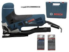 Bosch Stichsäge GST 90 E + Stichsägeblätter Sets 2608631013 + 2608630014