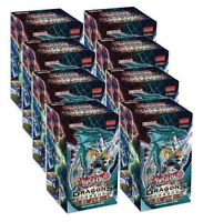 YuGiOh TCG Dragons of Legends Complete Series Full Display NEW SEALED
