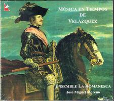 MUSICA EN TIEMPOS DE VELAZQUEZ Hidalgo Sanz Coll Selma CD José Miguel MORENO Neu