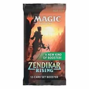 Zendikar Rising Set Booster Pack - Magic The Gathering MTG Sealed
