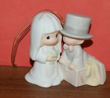 Precious Moments 1991 Our First Christmas Together 522945 Ornament