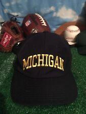 Rare Vintage U Of M  michigan wolverines hat Vintage Champion Cap H35