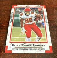 2020 Donruss Optic Clyde Edwards-Helaire Elite Series Rookies RC KC Chiefs SWEET