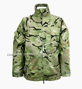 Genuine British Army Lightweight Multicam MTP Waterproof  Gortex Jacket, XL NEW
