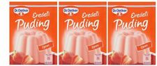 3 PACK DR OETKER ORIGINAL STRAWBERRIES PUDDING POWDER (3X40g)