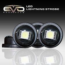 Universal EVO Formance Ultra-Mini LED Strobes, Ultra White, 4-Pack for Car-Truck