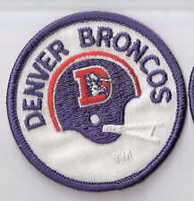 Denver Broncos Patch Vintage 3 inch round Patch Additional patches ship FREE
