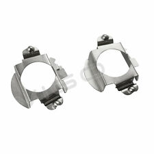2x H7 LED Headlight Bulbs Holder Adapters Retainer for Mercedes Benz BMW Audi VW