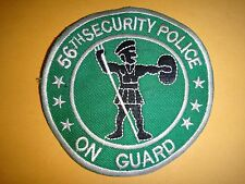 "US 56th SECURITY POLICE Squadron ""ON GUARD"" Vietnam War Patch"