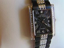 Daniel Steiger 31mm Sienna Midnight Swiss Watch w/ 34 Diamond MUST SEE!!!