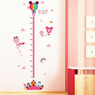Mickey Minnie Mouse Height Chart Wall Stickers Vinyl Decal Kids Nursery Decor