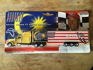 1/87 SCALE MICHAEL SCHUMACHER COLLECTION F1 2005 MALAYSIA GP TRUCK