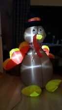 Thanksgiving Light Up Inflatable Turkey