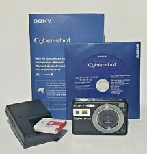 Sony Cyber-Shot Digital Camera DSC-W120 7.2 Mega Pixels *Black Steady Shot