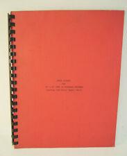 Landis Parts Catalog 10 20 Type Ir Universal Grinders Machine Shop Manual