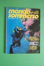 Magazine MONDO SOMMERSO N. 234 DEL 1980 Rivista internazionale del mare