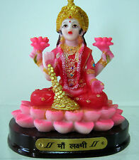 New Hindu Goddess of Wealth Lakshmi Figurine Diwali Gift Laxmi Statue Figure