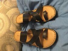 Sonoma Black Strappy Shoes Sandals Women's 8 M
