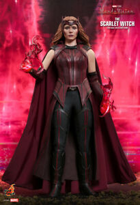 Hot Toys TMS036 Marvel Wanda Vision The Scarlet Witch 1/6 Action Figure PRESALE
