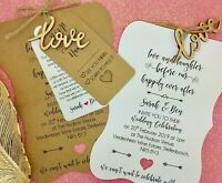 Love Laughter and Happily, Rustic Wedding Invitation Bundle