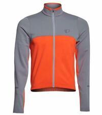 Pearl Izumi SELECT Thermal Jersey - Mens Medium - Grey/Orange