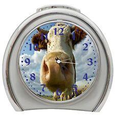 And The Cow Say Muhhhhh Alarm Clock Night Light Travel Table Desk