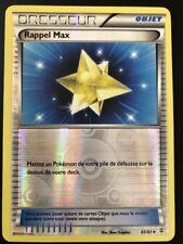 Carte Pokemon RAPPEL MAX 65/83 Reverse XY GENERATIONS FR NEUF