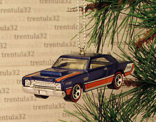 1968 DODGE DART 428 HEMI '68 Blue Orange CHRISTMAS TREE ORNAMENT XMAS